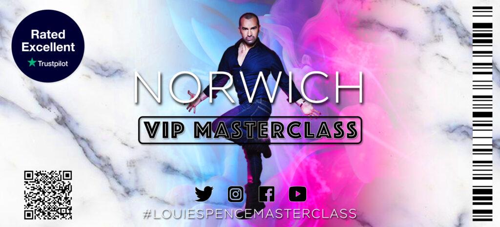 Norwich VIP Masterclass 9th January 2022