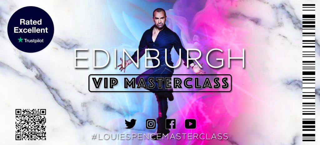 Edinburgh VIP Masterclass – 20th February 2022
